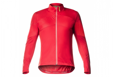 Maillot Manches Longues Mavic Cosmic Pro Wind Rouge