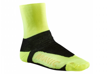 Chaussettes Mavic Essential Thermo Safety Jaune