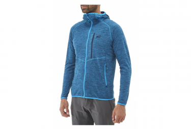 Polaire Millet Lokka Hoodie Electric Blue Homme