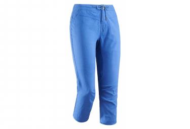 Pantalon Millet Babilonia Hemp Capri Bleu Femme
