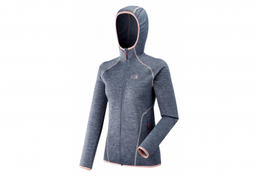 Millet Tweedy Mountain Hoodie Fleece Women Xl