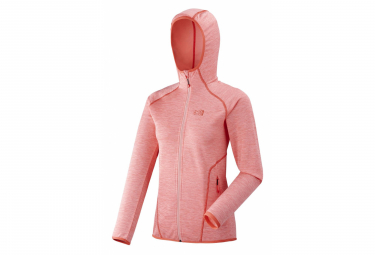 Polaire Millet Tweedy Mountain Hoodie Pop Coral Femme