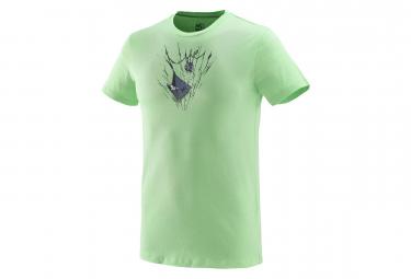 Millet Tee Shirt On The Ledge Ts Short Sleeves Flash Green Men Xxl