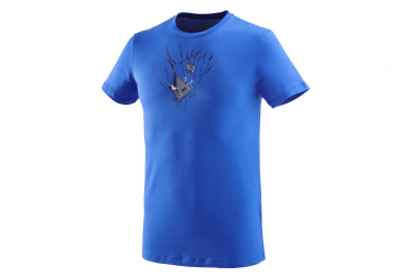T-Shirt Millet On The Ledge Bleu Homme