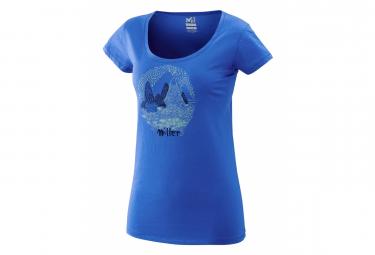 T-Shirt Millet Isatis Bleu Femme