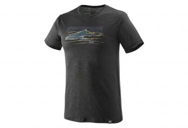 Millet Sevan Wool T-shirt Short Sleeves Black