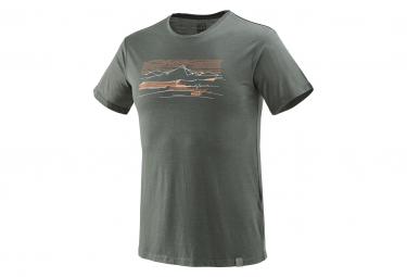 T-Shirt Millet Sevan Wool Castle Gris Homme