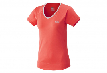 Millet Tee Shirt Roc Ts Short Sleeves Dark Coral Women