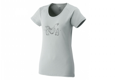 Millet Tee Shirt M Logo Ts Short Sleeves High Rise Women