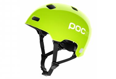 Poc Pocito Crane Kids Helmet Neon Yellow Green