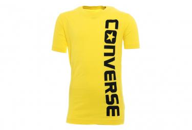 Wordmark Garçon Tee-Shirt Jaune Converse