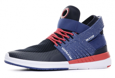 Sneakers marines homme Supra USA