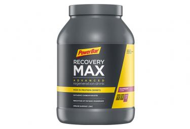 Boisson de Récupération PowerBar Recovery MAX Framboise 1144 g