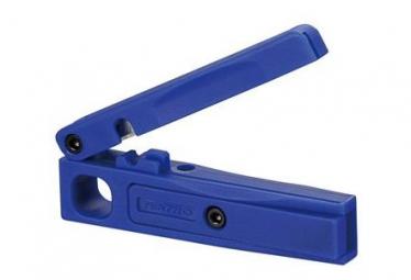 Cortador de manguera Tektro Cortador de manguera azul