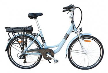 Image of Velo de ville electrique newton urban 26 shimano tourney 6v gris unique 150 185 cm