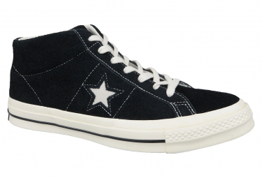 Converse One Star Ox Mid Vintage Suede 157701C Homme baskets Noir