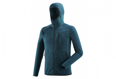 Polaire Millet Lokka Hoodie Emerald Homme