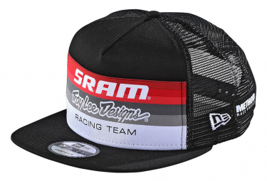 Troy Lee Designs Sram TLD Racing Block Trucker Cap Snapback Black