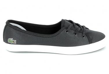 ToileBasket -mode - Sneakers LACOSTE Ziane Chunky 119 Noir Blanc