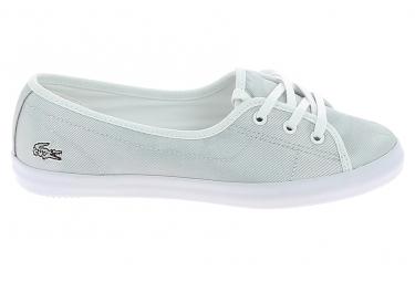 ToileBasket -mode - Sneakers LACOSTE Ziane Chunky 119 Gris Blanc
