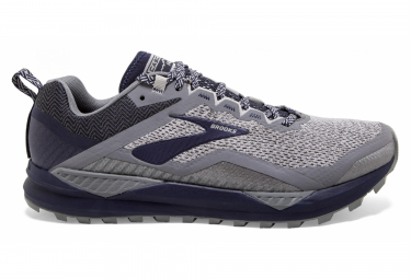 Image of Brooks cascadia 14 gris navy 44 1 2