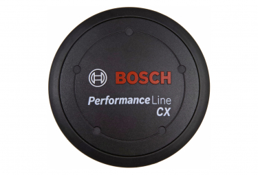 Bosch Performance Line CX Logo Cover Black + Spacer Ring
