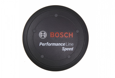 Bosch Performance Line Speed Logo Cover Black + Spacer Ring