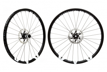 Pair of Fast Forward Outlaw AM AL 29 '' Tubeless DT 350 | 15x100 - 12x142mm Black