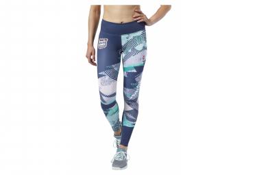 Reebok Women's Crossfit Lux Tights Green / Blue
