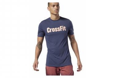 Maillot Manches Courtes de training Reebok Crossfit Speedwick Bleu