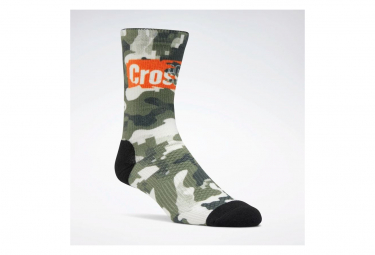 Chaussettes Reebok Crossfit Printed Camo / Vert