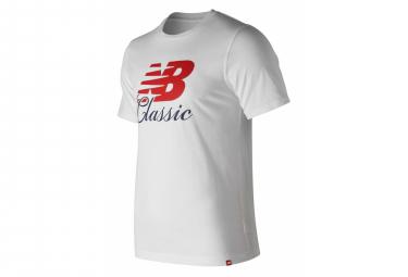 New Balance Short Sleeves T-Shirt NB Essentials White Men
