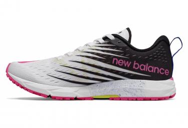 New Balance Racing 1500 V5 Blanc Rose Femme