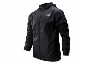 New Balance Windproof-Repellant Jacket MJ93195 Black Men
