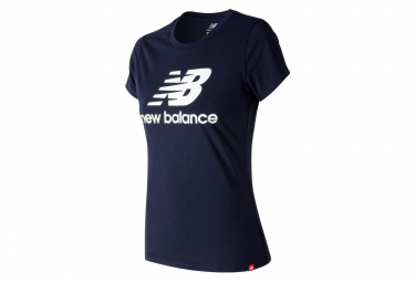 New Balance Short Sleeves T-Shirt NB Essentials Blue Women