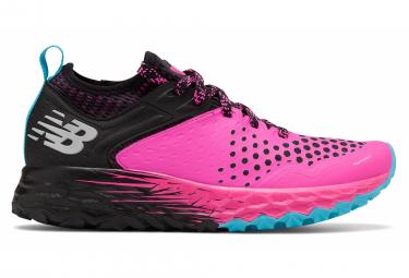 Zapatillas New Balance Fresh Foam Hierro V4 para Mujer Rosa / Negro
