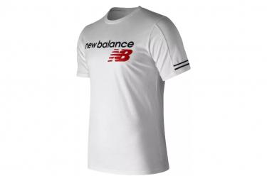 New Balance Short Sleeves T-Shirt NB Athletics White Men