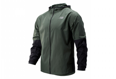 New Balance Windproof-Repellant Jacket MJ93195 Green Khaki Men
