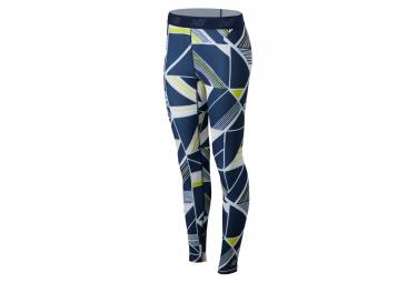 New Balance Long Tight Printed Accelerate Blue White Women