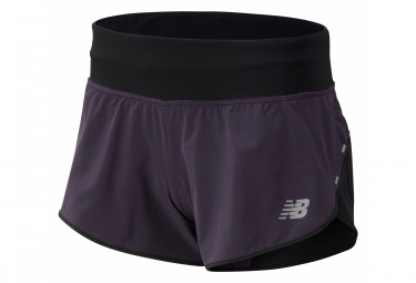 New Balance Short Impact 3 inch Black Women