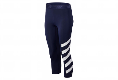 New Balance 3/4 Tight Printed Accelerate Blue Women