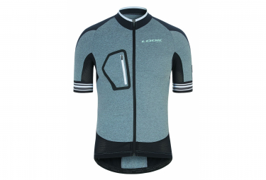 Short Sleeve Jersey Look Ultra Gray