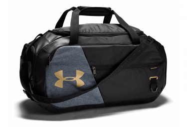 Under Armour Undeniable 4.0 Small Duffle Bag Black Gold