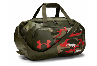 Under Armour Undeniable 4.0 Small Duffle Bag Camo Khaki Orange