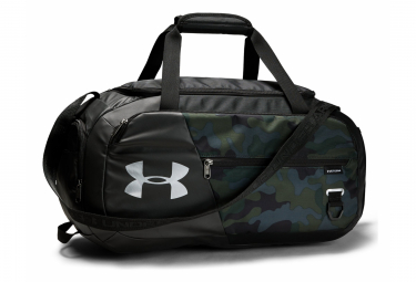 Under Armour Undeniable 4.0 Small Duffle Bag Black Camo
