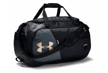 Under Armour Undeniable 4.0 Medium Duffle Bag Black Gold