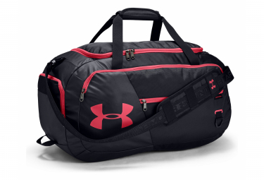 Under Armour Undeniable 4.0 Medium Duffle Bag Black Pink