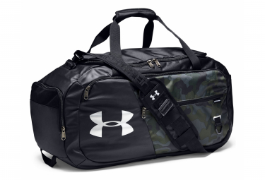 Under Armour Undeniable 4.0 Medium Duffle Bag Black Camo