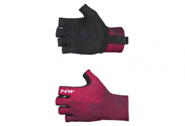 Par de guantes Northwave Switch Line Fuschia