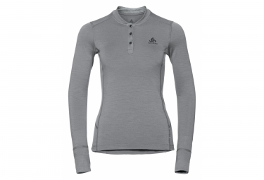 Odlo NATURAL 100% MERINO Long Sleeves T-shirt Grey